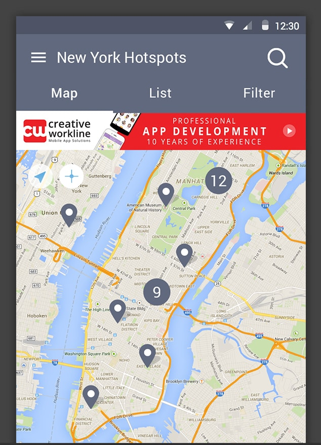 SimpleMapp App Generator - Create A Local Business Directory Map
